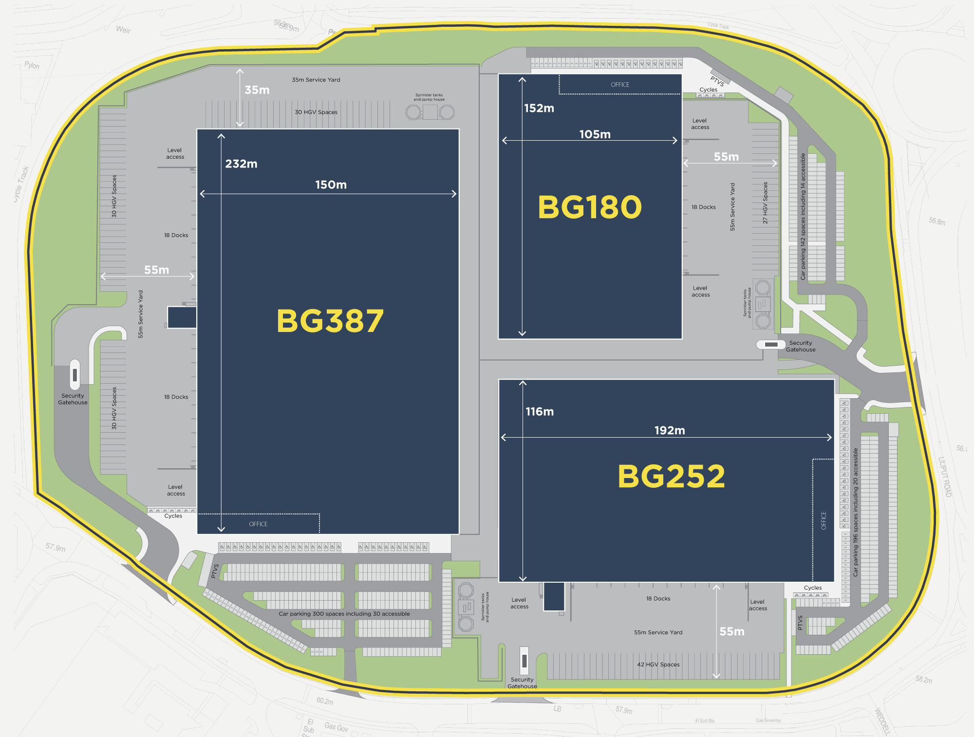 Brackmills Gateway - Masterplan